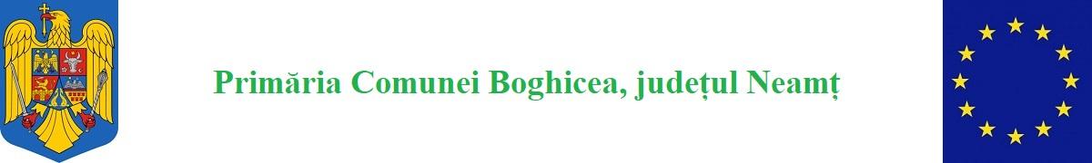 Primăria Comunei Boghicea, județul Neamț